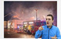 Pożar w ośrodku dla uchodźców w Niemczech
