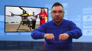 Dron uratował tonących chłopców