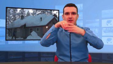 Jak odśnieżyć dach?