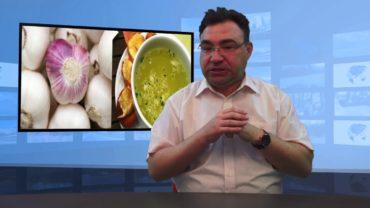 Zupa czosnkowa na wirusy