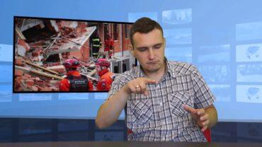 Bielsko-Biała: zawalił się blok