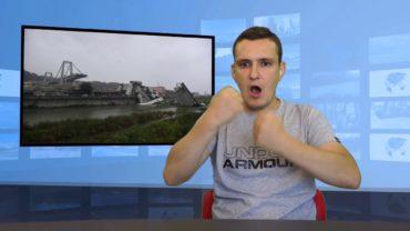 Genua: zawalił się wiadukt