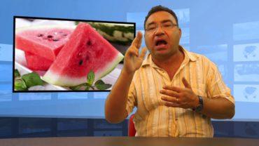 W upały pij sok pomidorowy i jedz arbuza
