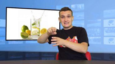 Woda z cytryną – warto wypić
