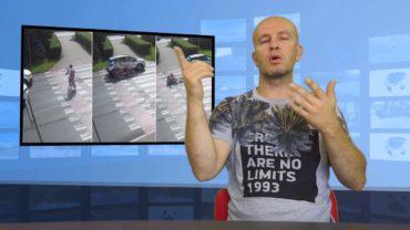 Potrącił rowerzystę – stracił prawo jazdy