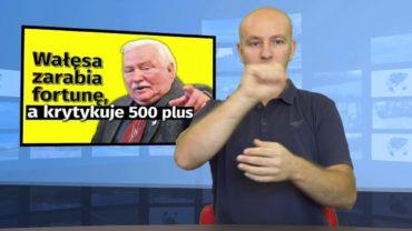 Wałęsa krytykuje 500+