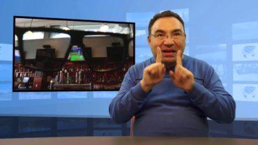 Wymyślił okulary blokujące obraz z monitorów