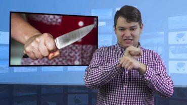 Pijana kobieta zaatakowała nożem