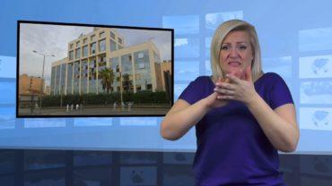 Wybuch przed telewizją w Grecji