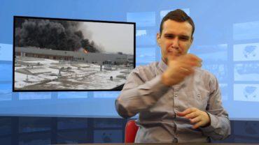 Pożar hali magazynowej w Warszawie