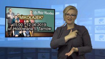 """Zapraszamy na tłumaczenie filmu """"MIKOŁAJEK"""" w dniu 12.06.2019. w Tarnowie."""
