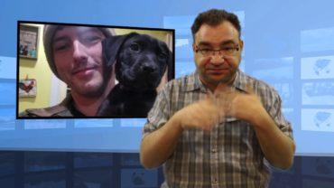 Głuchy adoptował głuchego psa