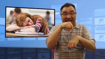 Nauczyciel pozwolił spać na lekcji