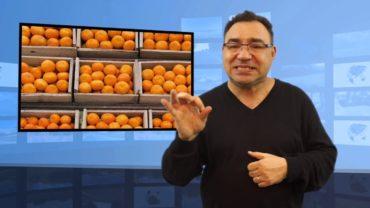 Jak myć pomarańcze?