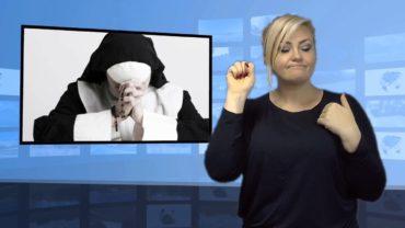 Udawała zakonnicę chowając się przed policją