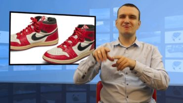 Buty Michaela Jordana sprzedane na aukcji