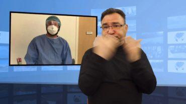 Sprząta w szpitalu po koronawirusie w Anglii