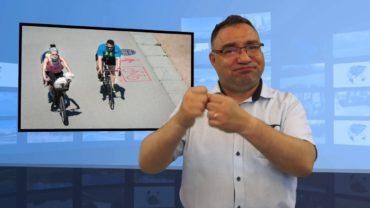 Uczeń rowerzysta ukarany 10 tys zł