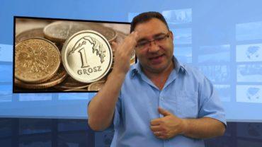 Chciał zapłacić grzywnę 200 zł monetami:  1,2,5 groszy