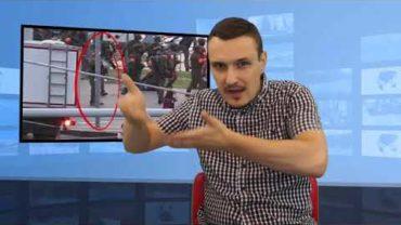 Białoruś – protesty – dziennikarka postrzelona